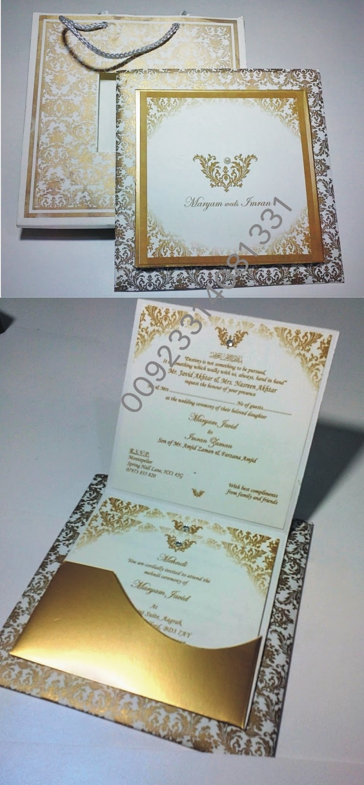 Zem Printers Wedding Cards In Pakistan Wedding Card Design