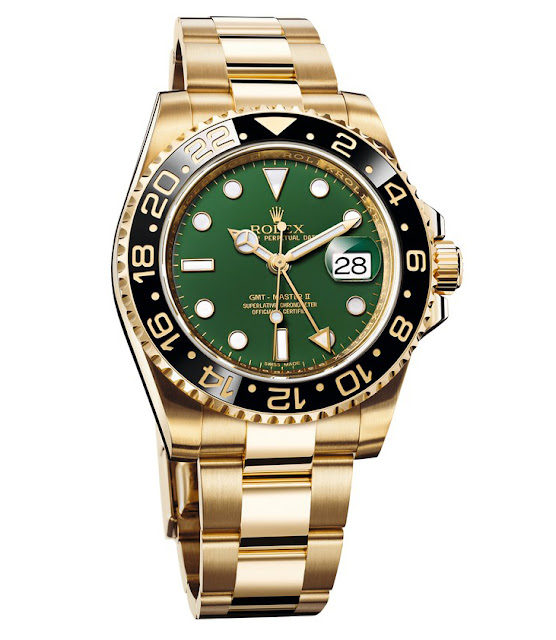 Photo of Yellow Gold Rolex GMT-Master II