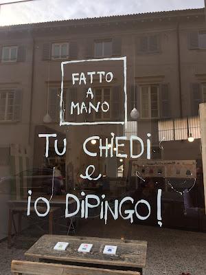 Bergamo sign: Tu chiedi e io dipingo!