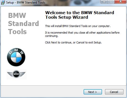 Free BMW Standard Tools 2 12 and installation | EOBDTOOL Blog