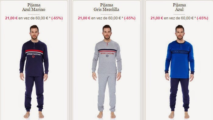 044172827 Tres modelos de pijamas de esta oferta para hombre