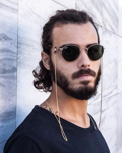 cordão para óculos de sol masculino