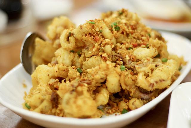Chinese Style Calamari Recipe