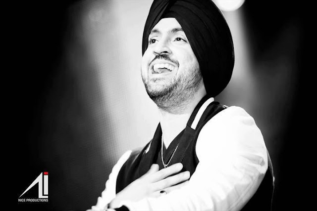 Diljit Dosanjh - Black and White Wallpaper - 2012