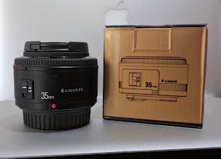 Lensa Fix Yongnuo YN35mm f/2 For Canon EF