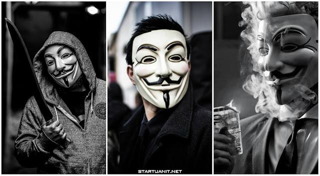 Hình nền Hacker, Anonymous chất cho điện thoại