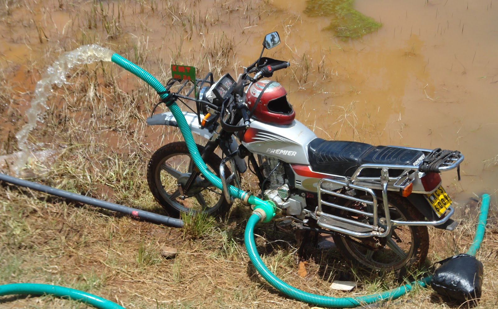 Motorbikes Taking over Cab Services In African Capitals