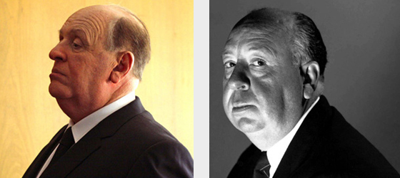 Anthony Hopkins é Alfred Hitchcock