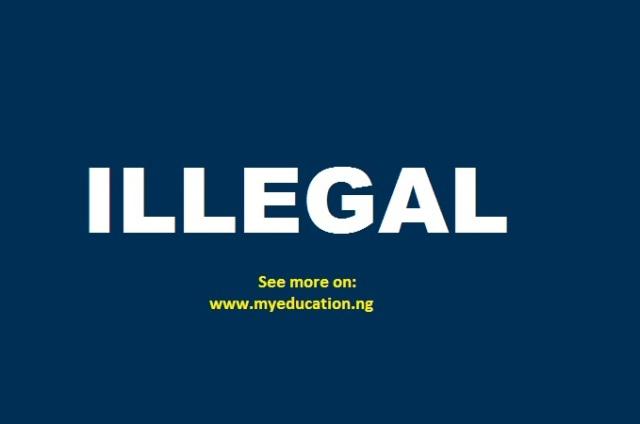 66 Illegal Universities in Nigeria | 2018 Illegal Universities in Nigeria