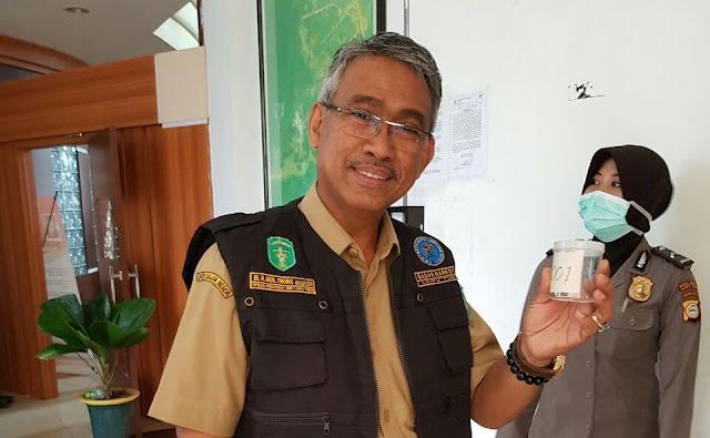Ribuan Pegawai Pemkab Lutim Didadak Tes Urine