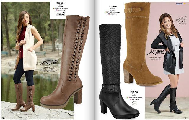 botas para las damas otoño invierno