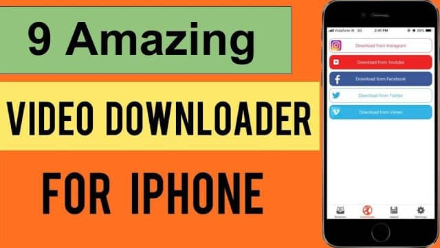 9 Amazing Apps video downloader for iPhone