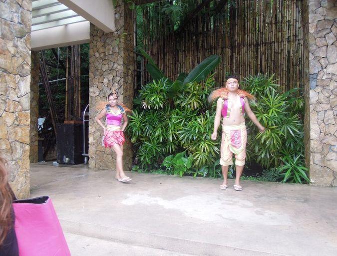 Ibalon dancers at Misibis Bay