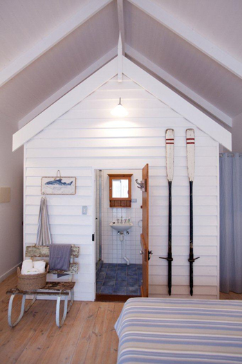 Natural modern interiors beach huts middleton south for Beach hut designs