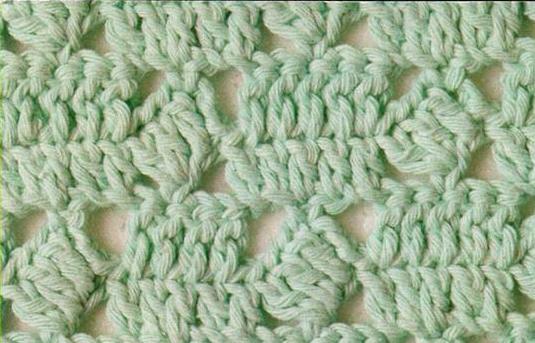 Patrón #1805: Punto Calado a Crochet