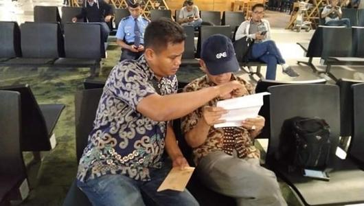 Polri: Kivlan Zen Hendak ke Brunei Lewat Batam