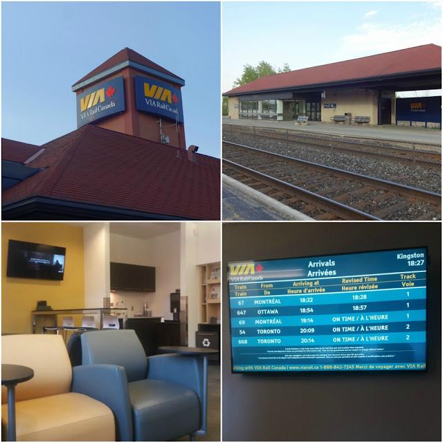 Business Lounge e estação de Kingston Canadá