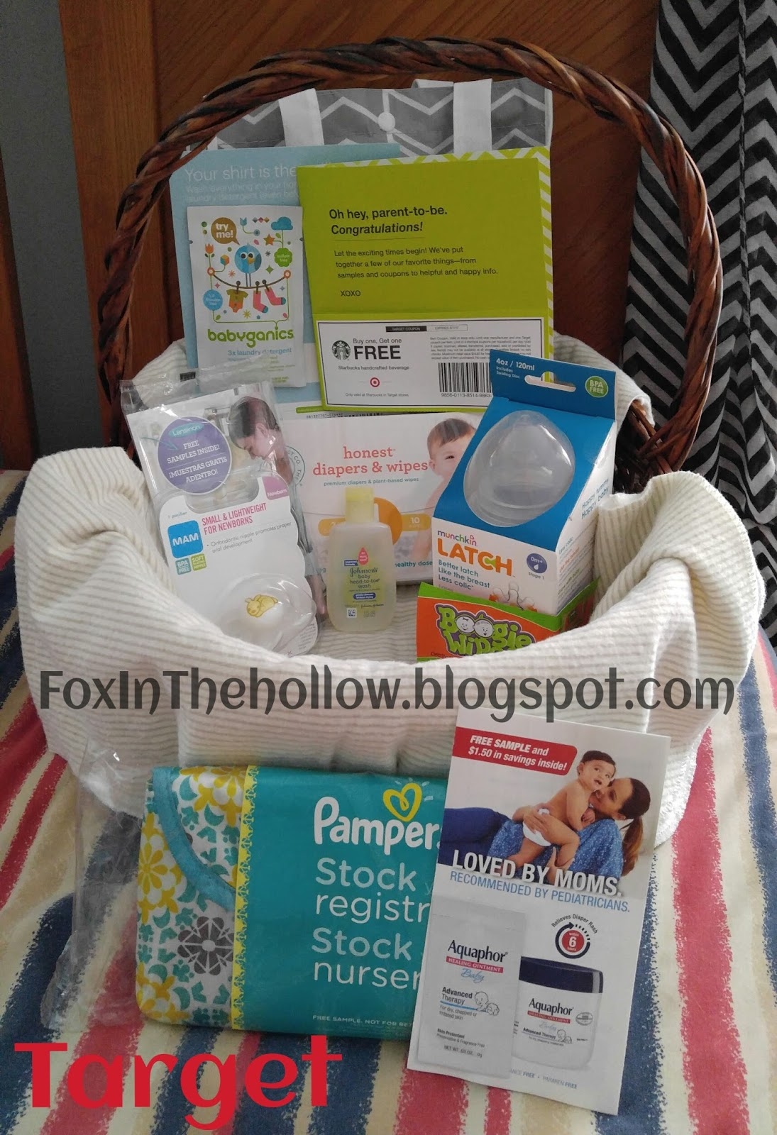 Fox in the Hollow: Target Baby Registry Gift Bag: So Many ...