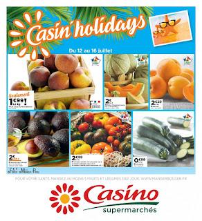 Catalogue Géant Casino 12 au 16 Juillet 2017