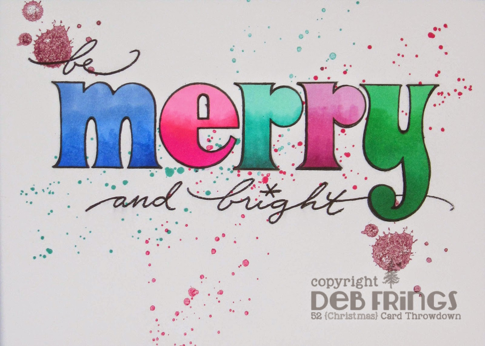 Merry & Bright - photo by Deborah Frings - Deborah's Gems