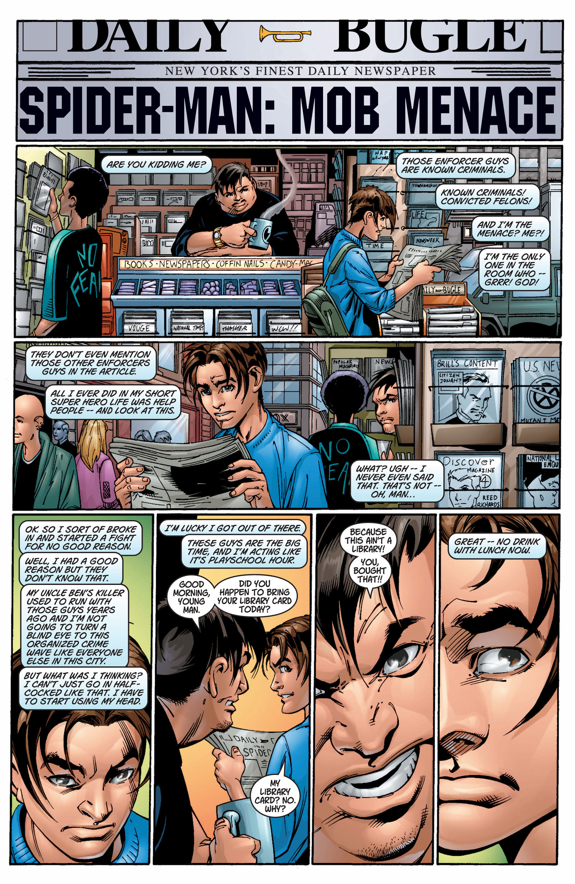 Read online Ultimate Spider-Man (2000) comic -  Issue #9 - 12