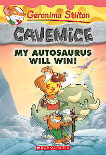 Geronimo Stilton Cavemice: My Autosaurus Will Win!