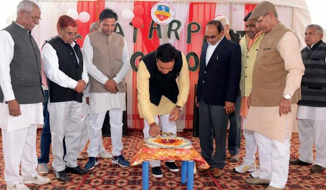 Organizing Family Fair at Chhatrapati School Ballabgarh