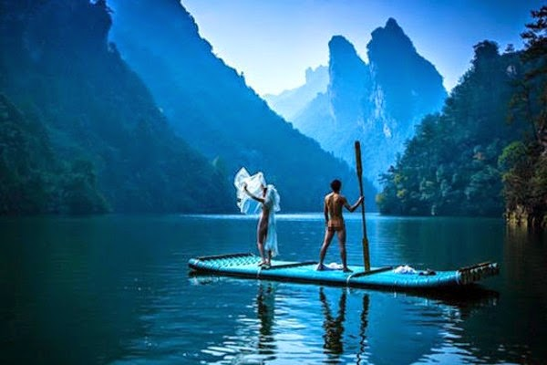 Pn Tays Blog: China couples naked wedding photos in