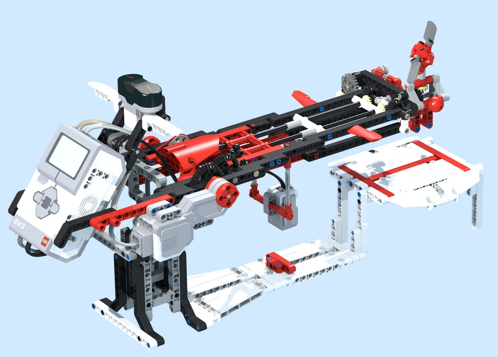 ROBOT REMIX Series 1- BUILDING INSTRUCTIONS   The NXT STEP is EV3