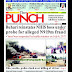 NIGERIA NEWSPAPERS: TODAY'S THE PUNCH NEWSPAPER HEADLINES [7TH FEBRUARY , 2018].
