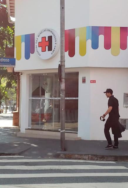 Fachada da loja em São Paulo