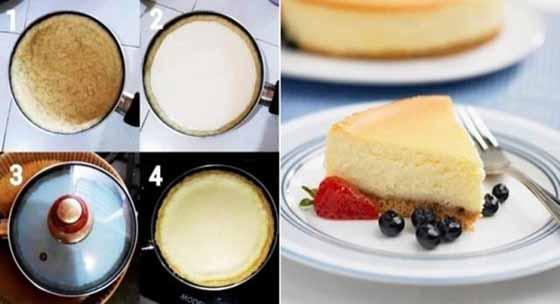 Resep Cake Teflon Yummyy. No Open No Ribet. Super Simpel