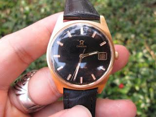 Jam Antik Omega Geneve 1970 Swiss Made Calibre 613 Manual Winding Kondisi Excelent