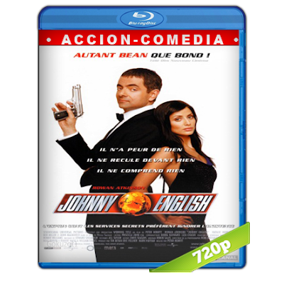 Johnny English (2003) BRRip 720p Audio Trial Latino-Castellano-Ingles 5.1