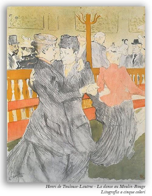 Henri de Toulouse Lautrec - La danse au Moulin Rouge