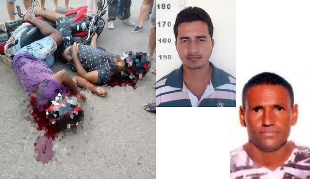 Duplo homicídio é registrado no final da tarde em Petrolina-PE; uma das vitimas era ex-presidiário