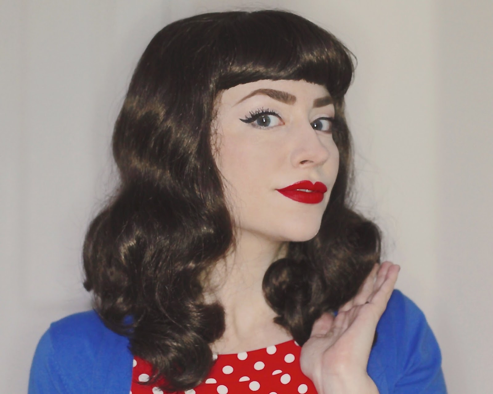 50 Style Hair: Easy 50s Hair: Part 1 €� Bettie Page Inspired