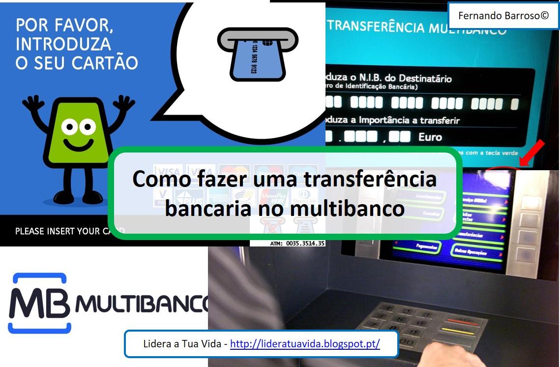 Lidera a tua vida 2017 for Transferencia bancaria