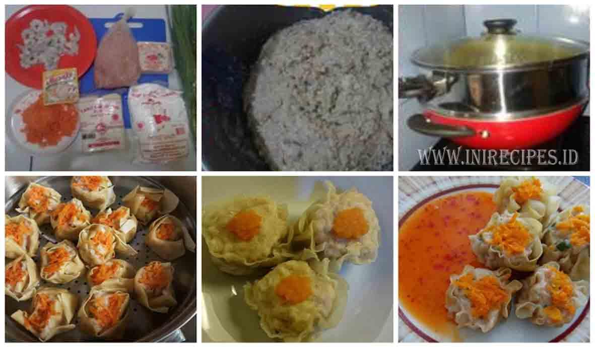 Resep Membuat Siomay Daging Ayam Praktis dan Enaaak