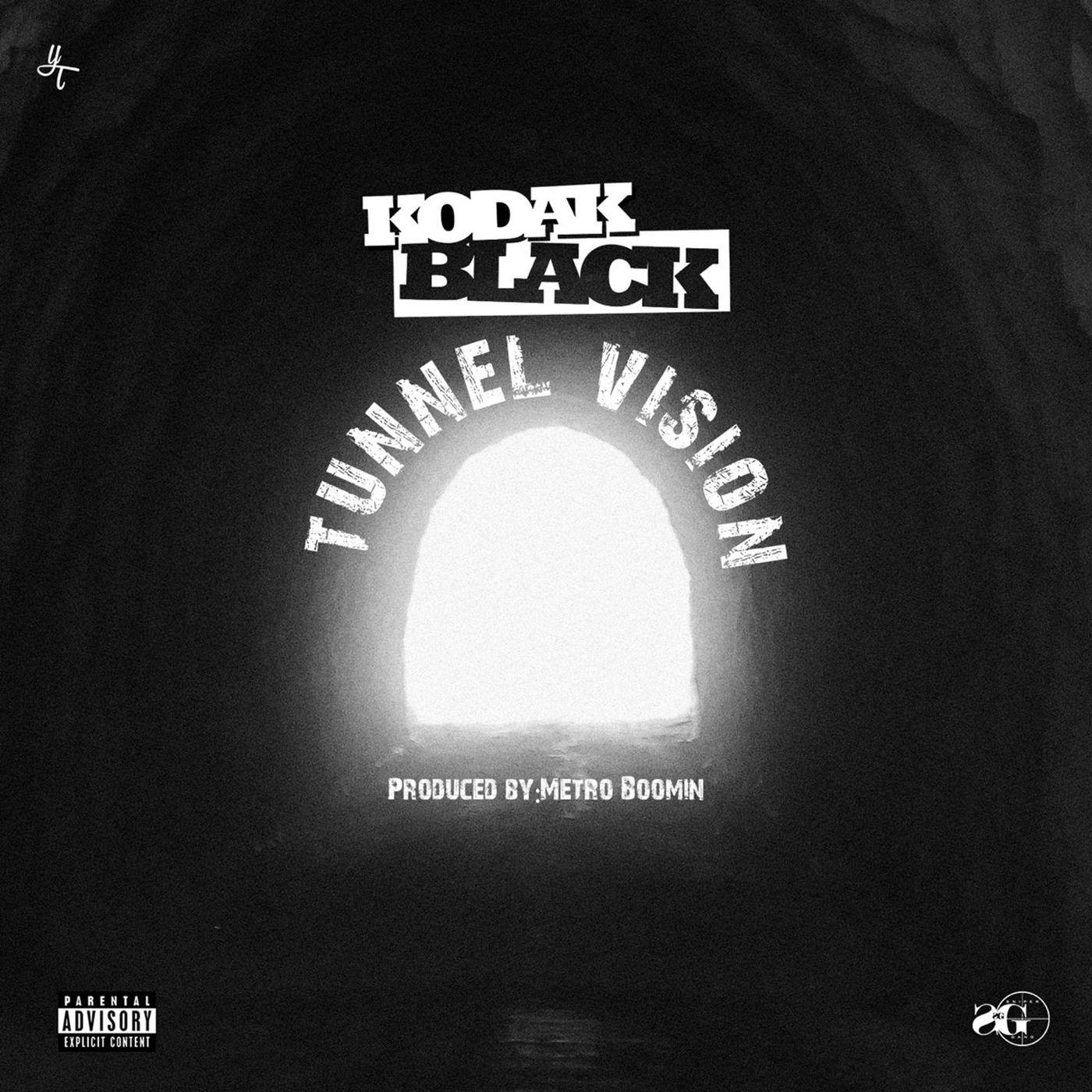 Kodak Black - Tunnel Vision - Single Cover