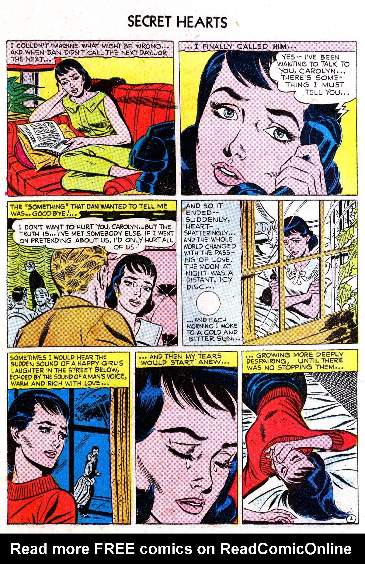 Read online Secret Hearts comic -  Issue #38 - 18