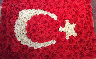 ayyıldız, gül bayrak, karanfil bayrak, türk bayrağı, cumhuriyet, atatürk