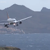 Tempestades dificultam aterragens no aeroporto da ilha da Madeira