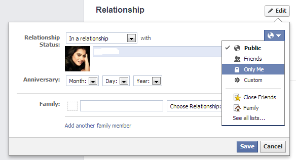 i in relationship status change