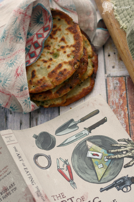 Guerilla Scallion Pancakes #zpocwinter