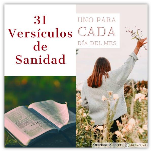 Versículos Bíblicos de Sanidad para Fortalecer la FE hasta ver el Milagro