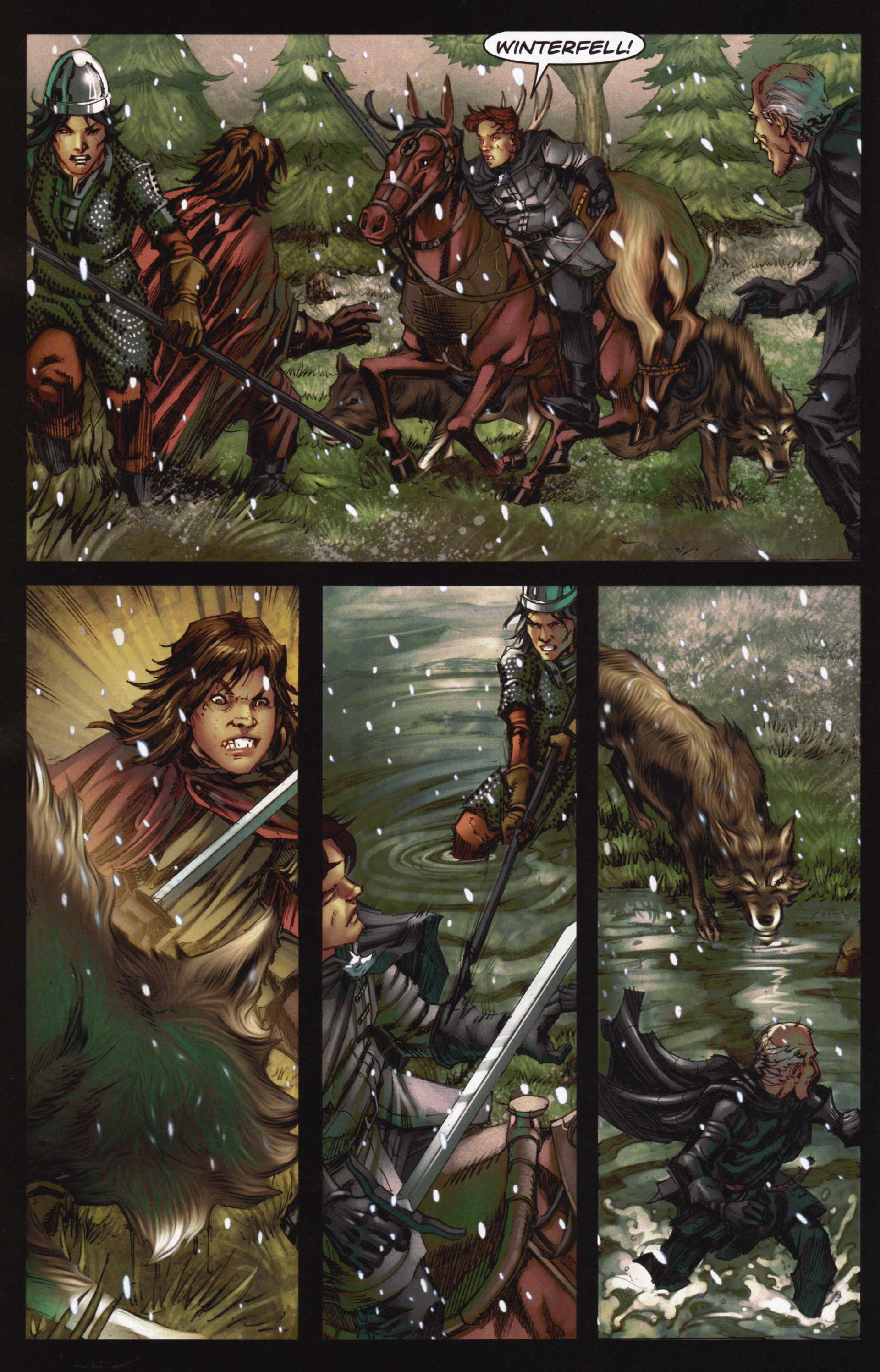 Read online A Game Of Thrones comic -  Issue #12 - 10