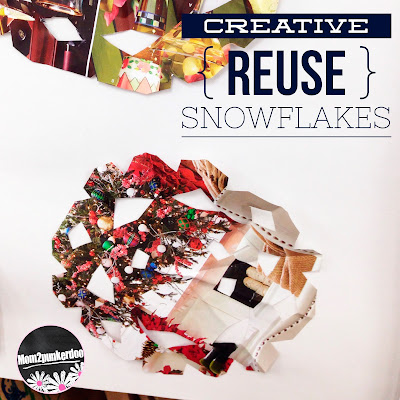 Are you looking for creative ways to encourage recycling and upcycling in your students? Check out this super fun upcycle activity using all those catalogs you get in the mail druing the holidays! Creative Reuse: Snowflakes