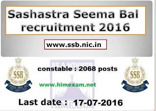 SSB 2068 posts himexam.net