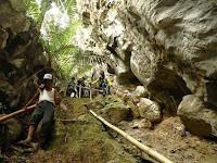 Tinggal di Lembah Kampung Biku, Balocci, Pangkep, Serasa Hidup Dijaman Batu